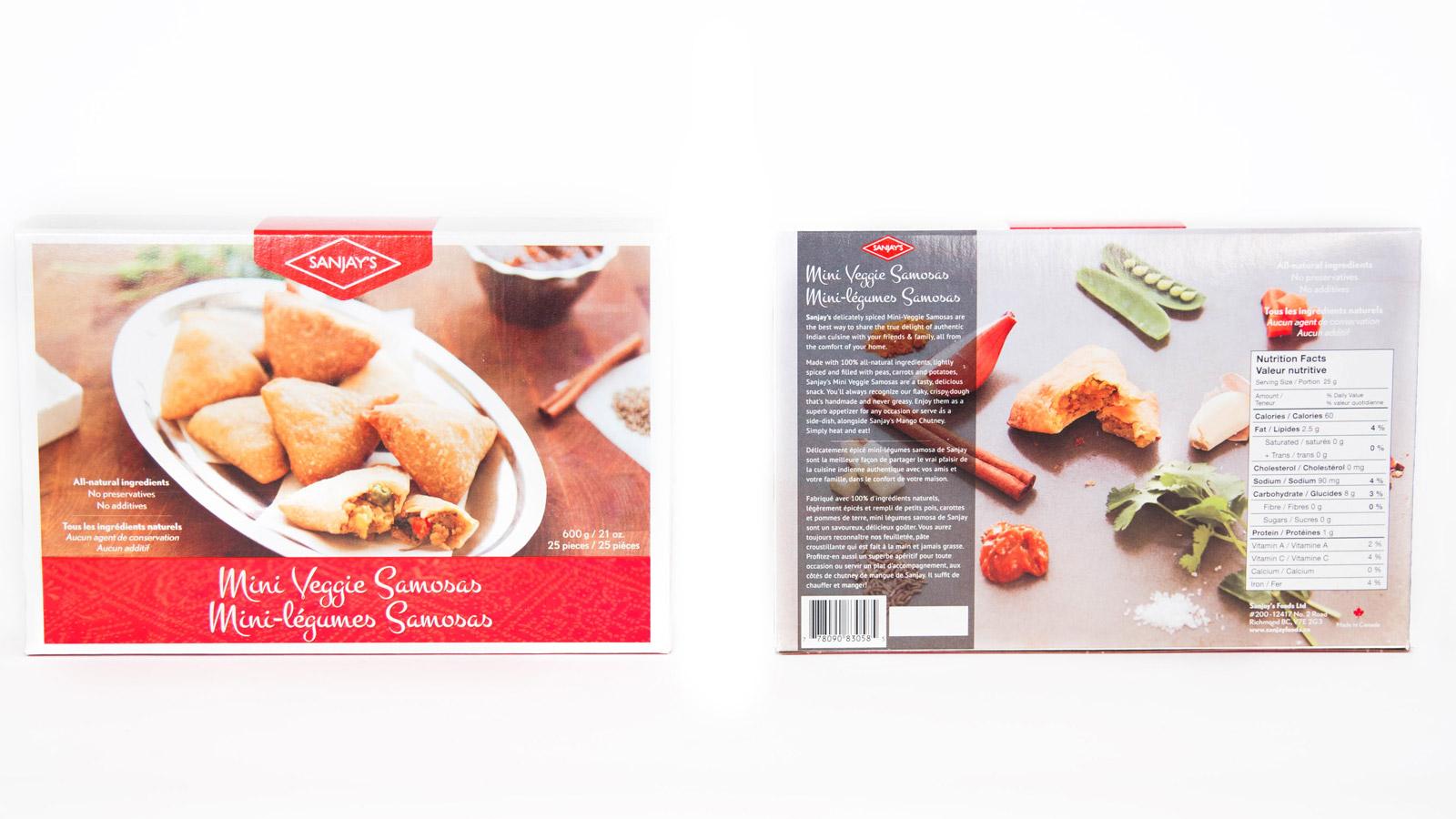 Slant Design Sanjay S Foods
